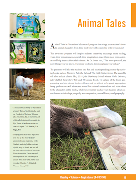 Animal Tales flyer