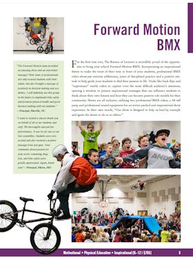 Forward Motion BMX flyer